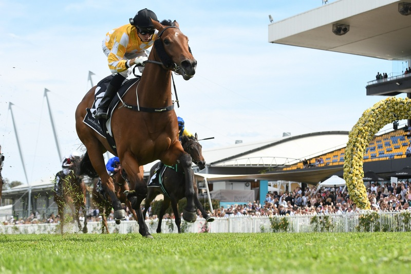 Dame Giselle claims the first running of the Golden Gift
